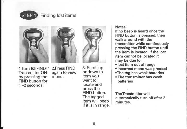 ez find instruction manual ez. Black Bedroom Furniture Sets. Home Design Ideas